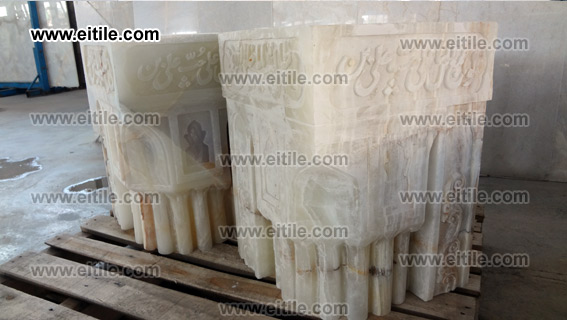 Stones for the columns of pich and entrance door of Mosques, www.eitile.com