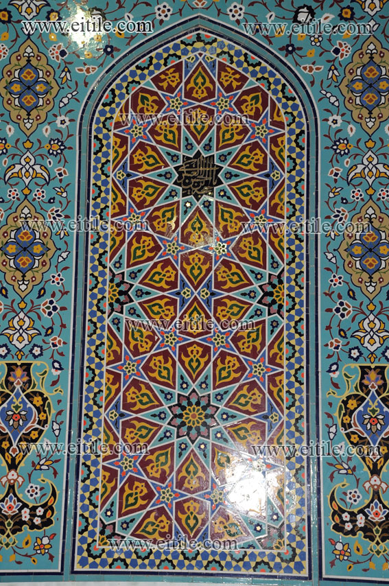Abol Abbas Shrine Isfahan Iran Erfan International Tile