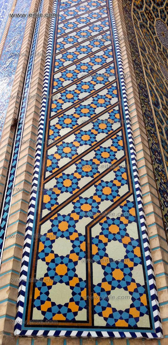 Mosque exterior design iii erfan international tile company for Mosque exterior design