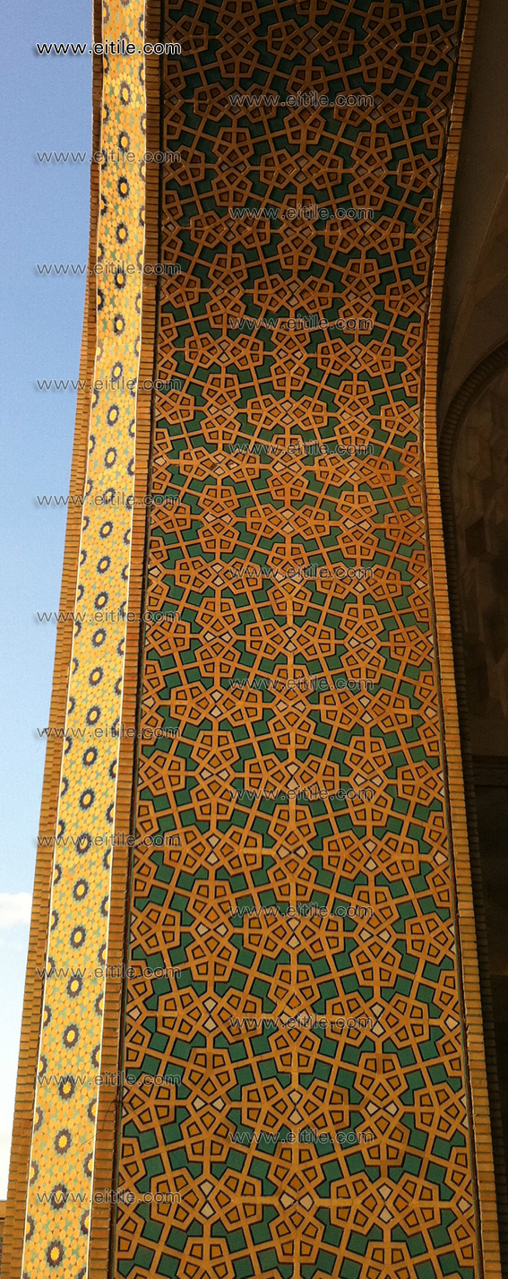 Mosque exterior design ii erfan international tile company for Mosque exterior design