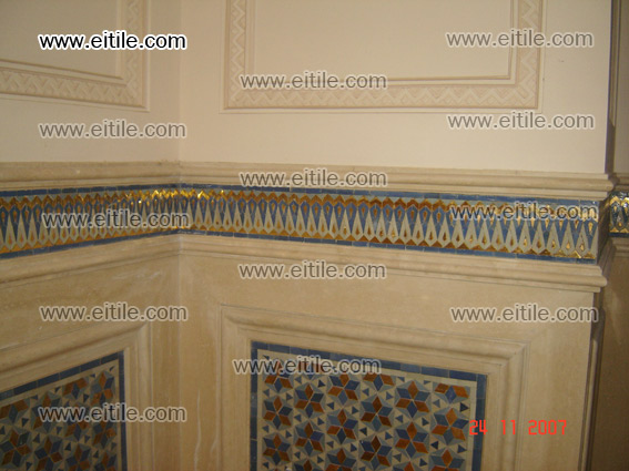 Gereh Ceramic Tile, Handmade Ceramic Tile, interior luxury design by tile, eitile.com